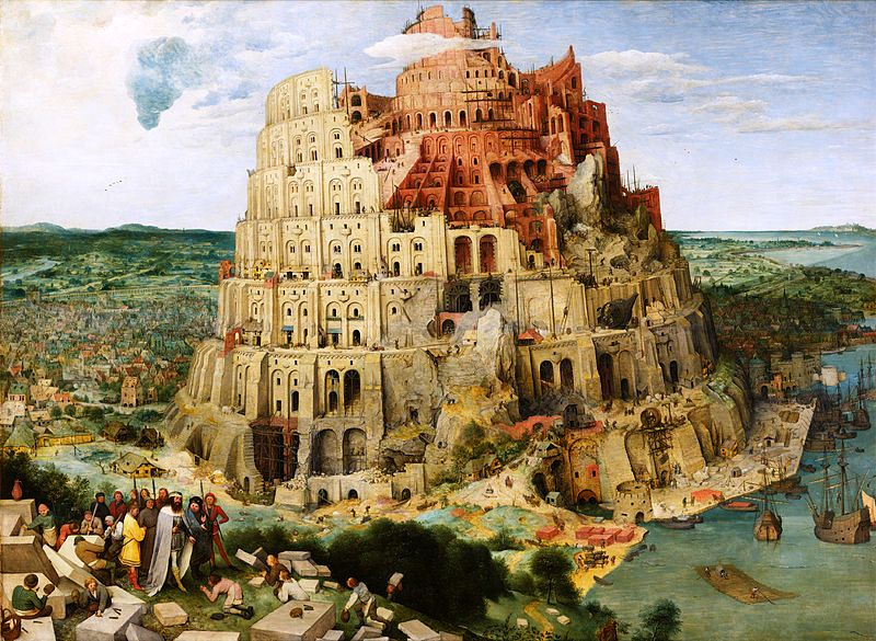 "Pieter Bruegel the Elder, ""The Tower of Babel"" (1563)"