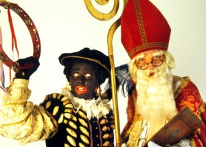 Black Pete and Sinterklaas