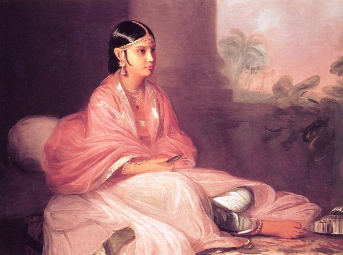 "Thomas Hickey, ""An Indian Lady"" (1787)"