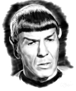 Mr Spock by ZootCadillac
