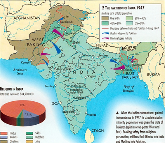 political social partition india The partition of india the british divided and quit india in 1947 points in the political, cultural and social evolution of the region books.