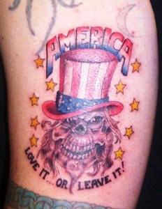 america-skull-tattoo